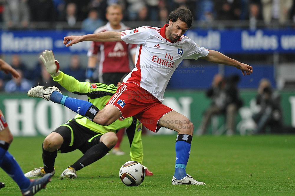 01-05-2010 VOETBAL: HAMBURGER SV - FC NURNBERG: HAMBURG<br /> HSV wint met 4-0 van Nurnberg / Ruud van Nistelrooy<br /> &copy;2010- FRH nph / Witke