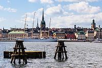 Sweden, Stockholm. Churches in Gamla Stan.