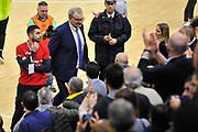 Romeo Sacchetti<br /> Banco di Sardegna Dinamo Sassari - Vanoli Cremona<br /> LegaBasket Serie A LBA Poste Mobile 2017/2018<br /> Sassari 11/03/2018<br /> Foto Ciamillo-Castoria