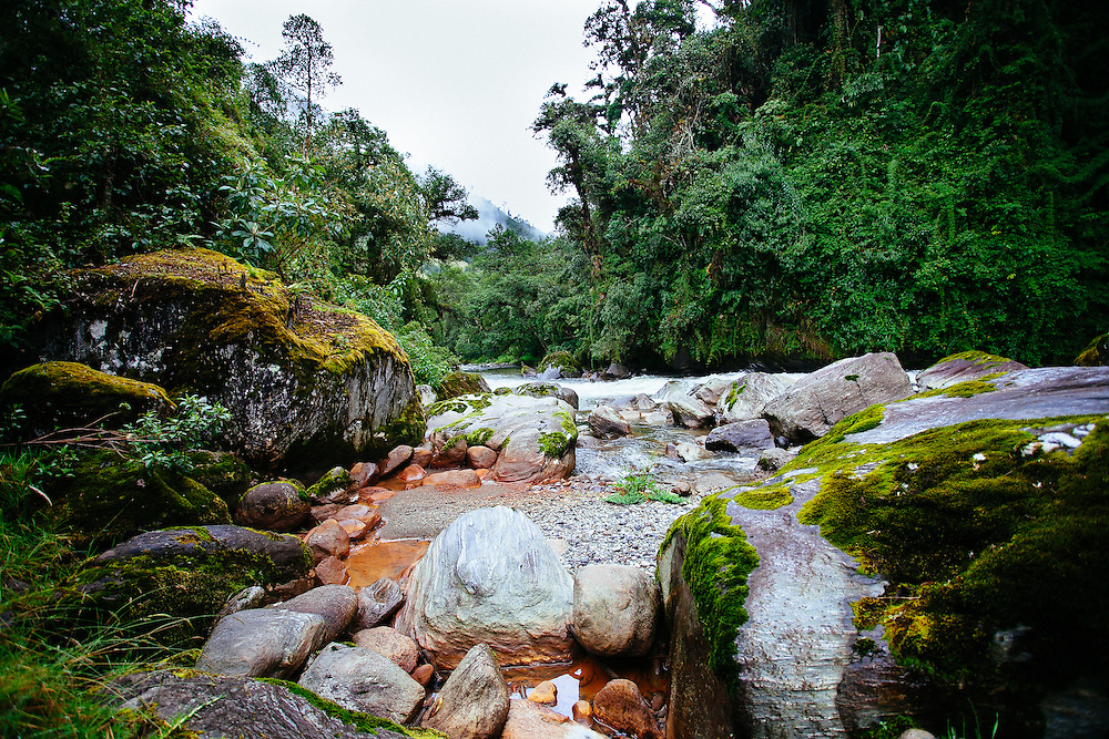 The Río Papallacta was claimed to be of importance to the Inca Royalty, a place of cleansing and grandour.