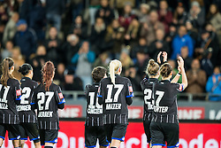 05.10.2016, Merkur Arena, Graz, AUT, CHL, SK Sturm Graz Damen vs FC Zuerich Frauen, Sechzehntelfinale, Hinspiel, im Bild da Team von SK Sturm Graz Damen // during the Round of 32, 1st Leg of the UEFA Womens Champions League between SK Sturm Graz Women and FC Zuerich Women at the Merkur Arena, Graz, Austria on 2016/10/05, EXPA Pictures © 2016, PhotoCredit: EXPA/ Dominik Angerer