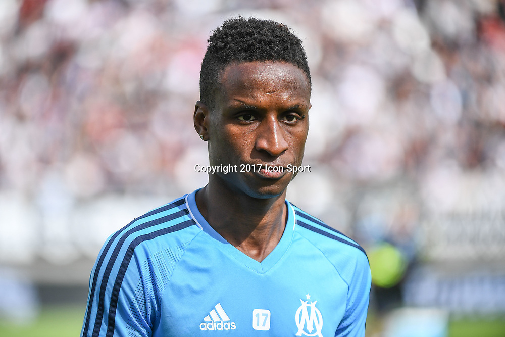 Bouna Sarr of Marseille during the Ligue 1 match between Amiens SC and Olympique Marseille at Stade de la Licorne on September 17, 2017 in Amiens, . (Photo by Anthony Dibon/Icon Sport)