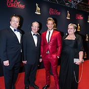 NLD/Utrecht/20130102 - NFF 2013 - premiere Chez Nous, Alex Klaasen met broer en ouders
