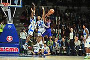 DESCRIZIONE : Campionato 2014/15 Dinamo Banco di Sardegna Sassari - Enel Brindisi<br /> GIOCATORE : Elston Turner<br /> CATEGORIA : Passaggio Controcampo Difesa<br /> SQUADRA : Enel Brindisi<br /> EVENTO : LegaBasket Serie A Beko 2014/2015<br /> GARA : Dinamo Banco di Sardegna Sassari - Enel Brindisi<br /> DATA : 27/10/2014<br /> SPORT : Pallacanestro <br /> AUTORE : Agenzia Ciamillo-Castoria / M.Turrini<br /> Galleria : LegaBasket Serie A Beko 2014/2015<br /> Fotonotizia : Campionato 2014/15 Dinamo Banco di Sardegna Sassari - Enel Brindisi<br /> Predefinita :