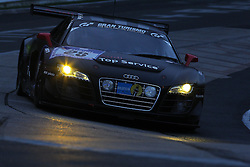 25.06.2011, GER, Motorsport, 24 H Rennen Nürburgring, im Bild Audi Race Experience (Frank SCHMICKLER, Christian BOLLRATH, John BARKER, Rudi SPEICH).., EXPA Pictures © 2011, PhotoCredit: EXPA/ A. Neis