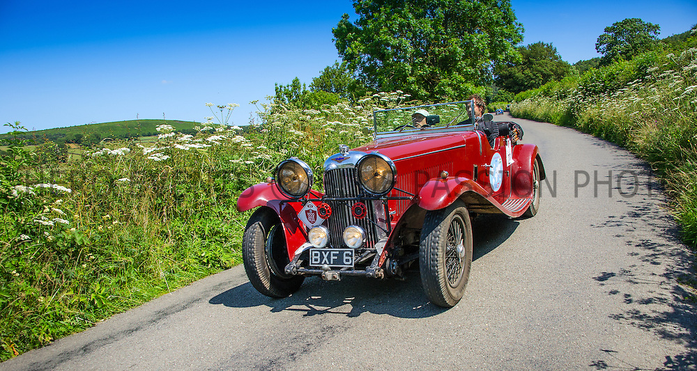 Amnon Rafalowicz and Frits Zeinstra in their Lagonda M45  on the Royal Automobile Club 1000 Mile Trial 2015