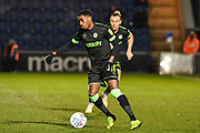 Forest Green Rovers Midfielder Reece Brown (10) during the EFL Sky Bet League 2 match between Colchester United and Forest Green Rovers at the JobServe Community Stadium, Colchester, England on 12 March 2019.