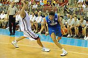 LETTONIA  QUALIFICAZIONI EUROPEE 2011<br /> RIGA 05.08.2010<br /> PARTITA LETTONIA ITALIA <br /> NELLA FOTO ANGELO GIGLI