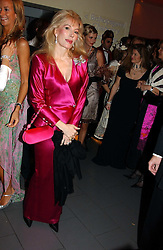 DONATELLA FLICK at Andy & Patti Wong's Chinese New Year party to celebrate the year of the Rooster held at the Great Eastern Hotel, Liverpool Street, London on 29th January 2005.  Guests were invited to dress in 1920's Shanghai fashion.<br />
