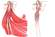Red-hot performer! First glimpse at Jennifer Lopez's world tour wardrobe as designer Zuhair Murad unveils outfit sketches<br /> <br /> She has been stuck behind a desk on American Idol so it makes sense that J-Lo is turning up the glam in preparation for her forthcoming world tour. <br /> Sketches from Jennifer Lopez's tour wardrobe have been unveiled, revealing two sizzling hot ensembles.<br /> The scarlet red looks, created by Lebanese designer Zuhair Murad, will be worn by the 42-year-old mega star when her tour commences in South America on Friday.<br /> Although the Beirut-based designer's involvement in the production is no surprise, given how often the singer is seen on the red carpet in his creations, the outfits themselves will no doubt prove show-stopping.<br /> ©exclusivepix