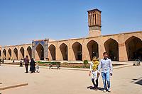 Iran, province de Kerman, Kerman, Ganj Ali Khan place // Iran, Kerman province, Kerman, Hanj Ali Khan square