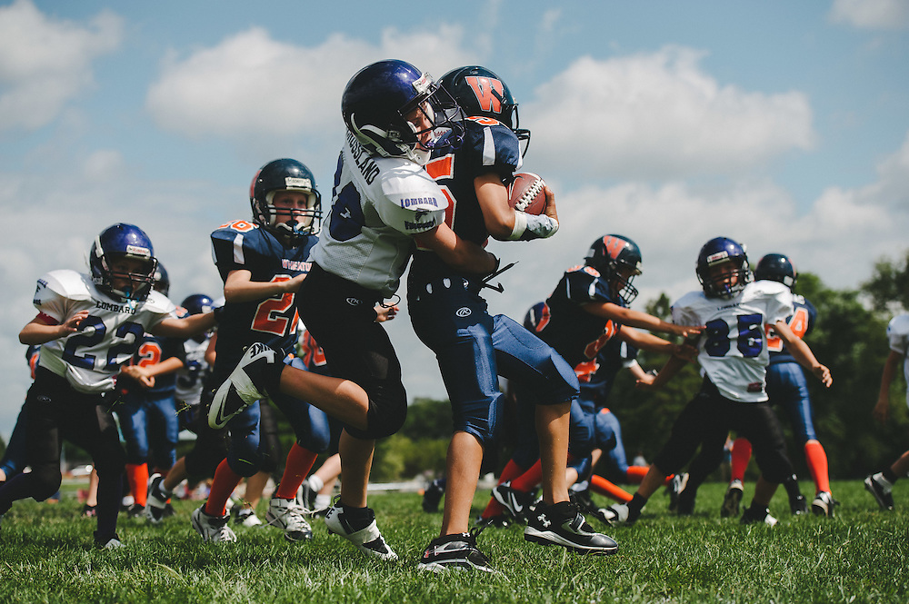 Chicago Youth Sports Photographer Chris W. Pestel Photography. Chicago Youth Sports Photographer Chris W. Pestel Football Photography. Bill George Youth Football League.