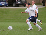 Middletown, NY - SUNY Orange plays Globe Institute in a men's soccer game on Sept. 29, 2008.
