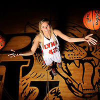 Brandon Valley senior basketball standout Heidi Hoff will play Division I basketball at the University of South Dakota. Hoff set school records for points, rebounds and assists - for game, season, and career.