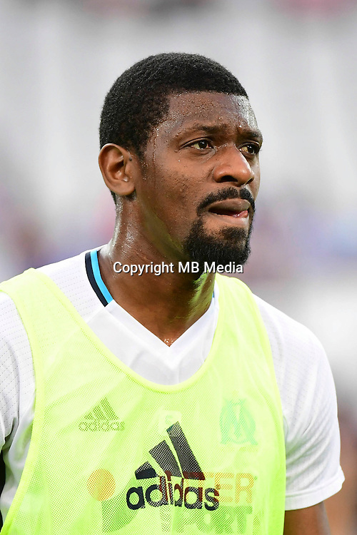 Abou Diaby of Marseille during the football Ligue 1 match between Olympique de Marseille and Toulouse FC at Stade Velodrome on August 14, 2016 in Marseille, France. (Photo by Dave Winter/Icon Sport)