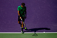 KEY BISCAYNE, FL - MARCH 27: Miami Open during the Miami Open at the Crandon Park Tennis Center on March 27, 2017 in Key Biscayne, Florida.