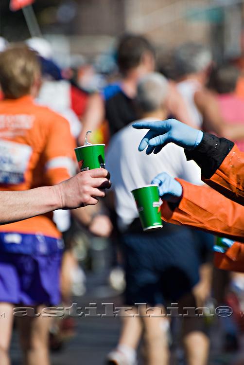 New York Marathon pit stop