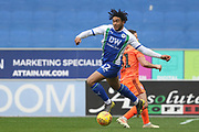 Wigan's Reece James during the EFL Sky Bet Championship match between Wigan Athletic and Ipswich Town at the DW Stadium, Wigan, England on 23 February 2019.