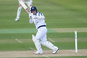 Lewis McManus of Hampshire batting during the Specsavers County Champ Div 1 match between Hampshire County Cricket Club and Middlesex County Cricket Club at the Ageas Bowl, Southampton, United Kingdom on 16 April 2017. Photo by David Vokes.