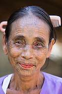 The Chin people in the Southern Chin Hills used to have the custom of tattooing on the face of the women. According to legend, this custom began in the eleventh century to protect young girls from slavery or capture by the ruling princes.