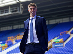 LIVERPOOL, ENGLAND - Saturday, March 12, 2016: Everton's John Stones arrives at Goodison Park before the FA Cup Quarter-Final match against Chelsea. (Pic by David Rawcliffe/Propaganda)