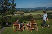 Beautiful Oregon summer days at Penner-Ash, Willamette Valley, Oregon