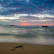Sunrise over Southern Ocean at Peterborough Foreshore, Great Ocean Road