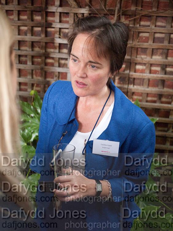 Caroline Foord- Knight Frank, Archant Summer party. Kensington Roof Gardens. London. 7 July 2010. -DO NOT ARCHIVE-© Copyright Photograph by Dafydd Jones. 248 Clapham Rd. London SW9 0PZ. Tel 0207 820 0771. www.dafjones.com.