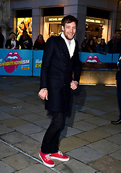 James Jagger arriving for the opening night gala for Exhibitionism: The Rolling Stones exhibition held at the Saatchi Gallery, London.  PRESS ASSOCIATION Photo. Picture date: Monday April 4 2016. See PA story SHOWBIZ Stones. Photo credit should read: Ian West/PA Wire