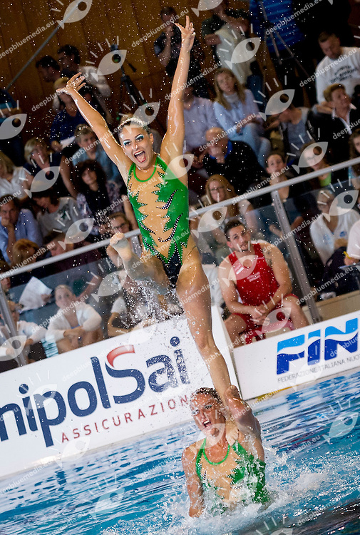 Libero Squadra Eliminatorie<br /> AURELIA NUOTO<br /> FIN Campionati Assoluti di Nuoto Sincronizzato<br /> Terni 2015  22 - 24 Maggio<br /> Photo D. Montano/Deepbluemedia/Inside