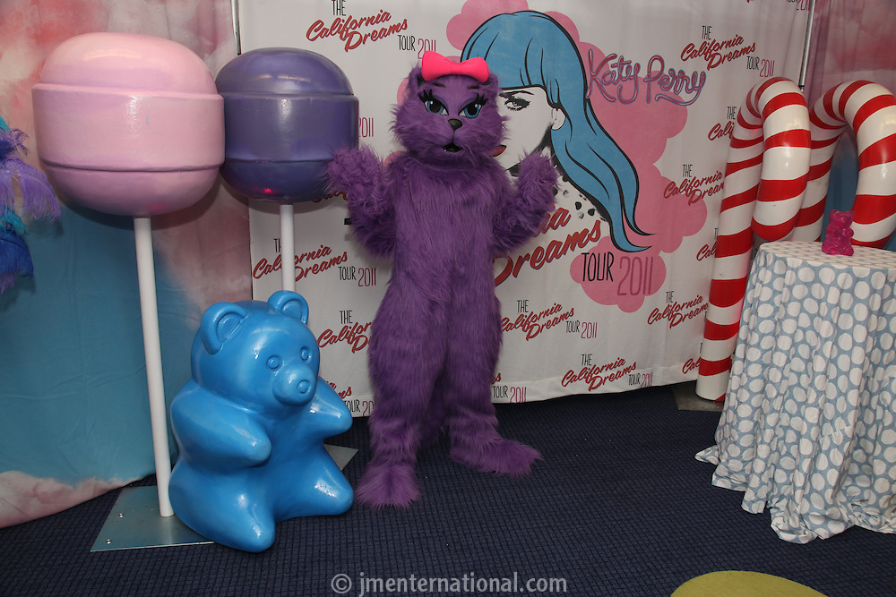 Kitty Purry backstage