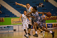 San Marcos y Izalco en el inicio de la liga Superior de Baloncesto en el Gimnasio Adolofo Pineda, San Salvador, El Salvador MARCH 18,2017. Photo: Edgar ROMERO/Imagenes Libres.
