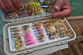 Saltwater Fly Gear Stock Photos