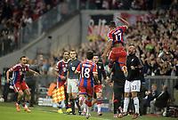 Fotball<br /> Tyskland<br /> 17.09.2014<br /> Foto: Witters/Digitalsport<br /> NORWAY ONLY<br /> <br /> 1:0 Jubel Torschuetze Jerome Boateng (Bayern)<br /> <br /> Fussball, Champions League, Gruppenphase, FC Bayern München - Manchester City 1:0