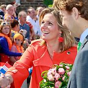 NLD/Thorn/20110430 - Koninginnedag 2011 in Thorn, Annet Sekreve en Floris