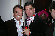 Nicky Haslam and Sheikh Abdallah. ( ?) Andy & Patti Wong's Chinese New Year party to celebrate the year of the Rooster held at the Great Eastern Hotel, Liverpool Street, London.29th January 2005. The theme was a night of hedonism in 1920's Shanghai. . ONE TIME USE ONLY - DO NOT ARCHIVE  © Copyright Photograph by Dafydd Jones 66 Stockwell Park Rd. London SW9 0DA Tel 020 7733 0108 www.dafjones.com