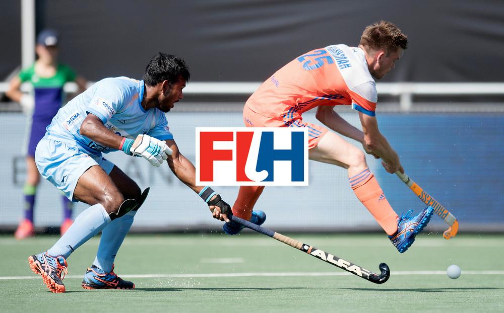BREDA - Rabobank Hockey Champions Trophy<br /> The Netherlands - India<br /> Photo: Thierry Brinkman.<br /> COPYRIGHT WORLDSPORTPICS FRANK UIJLENBROEK