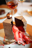 Lunch at Le Grand vefour restaurant in Paris, Chef Guy Martin