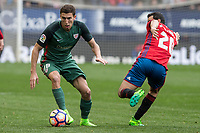 De Marcos of Athletic Club during the match of  La Liga between Club Atletico Osasuna and Athletic Club Bilbao at El Sadar Stadium  in Pamplona, Spain. April 01, 2017. (ALTERPHOTOS / Rodrigo Jimenez)