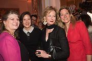 ELIZABETH PEYTON-JONES;  LUCINDA PEYTON-JONES; JULIA PEYTON-JONES;  MARINA PEYTON-JONES, The Veuve Clicquot Business Woman Award. Claridge's Ballroom. London W1. 11 May 2015.
