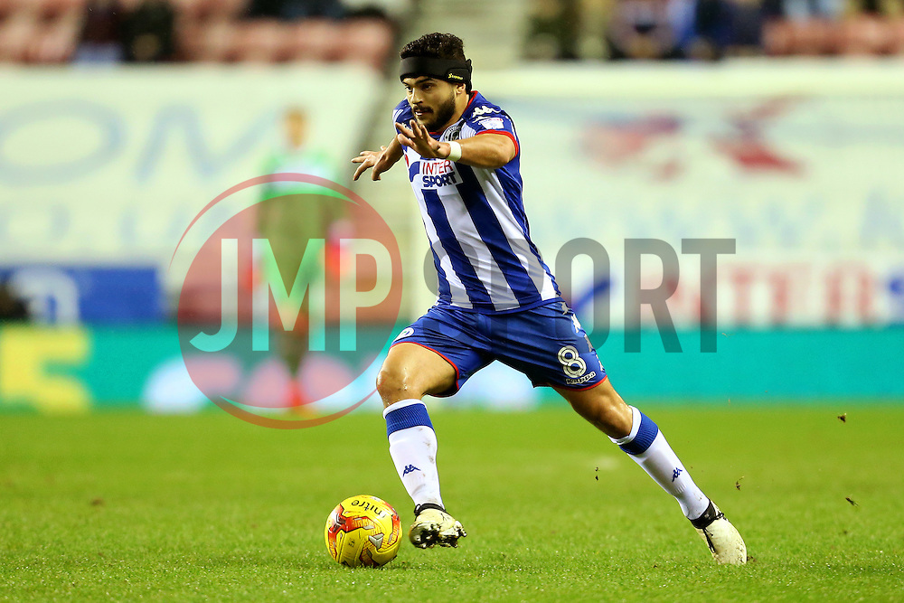 Sam Morsy of Wigan Athletic - Mandatory by-line: Matt McNulty/JMP - 03/02/2017 - FOOTBALL - DW Stadium - Wigan, England - Wigan Athletic v Sheffield Wednesday - Sky Bet Championship