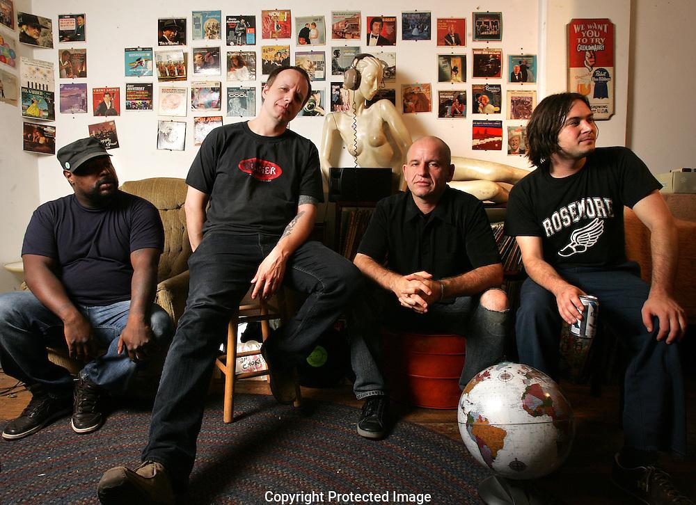Shawen Acres Band.Nate Farley-guitar, vocals; Duane Hart-bass; Dave Glenn-guitar; Josh McGregor-drums(Jodi Miller/Alive)