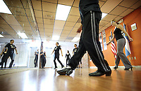 (CH) FL-el-argentinean-tango-CHm --Members of The Tango Times Dance Company are dancing during the practice of The Argentine Folk and Tango Show, at their studio in North Miami Beach on June 30, 2012. Saff photo/Cristobal Herrera Sun-Sentinel