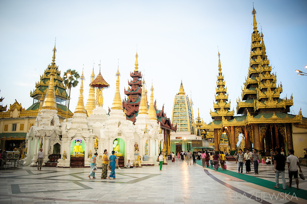 Shwedagon Pagoda is the most sacred and 2500 years old temple in Myanmar (Burma) believed to be the place, where Buddha's hair is enshrined. Being one of the most important and the biggest Buddhist sites in the country it attracts thousands of pilgrims and tourists.