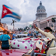 Havana is a city used to repairing itself. The capital building is under a major renovation and the old cars require a great deal of innovative patches to keep them running.