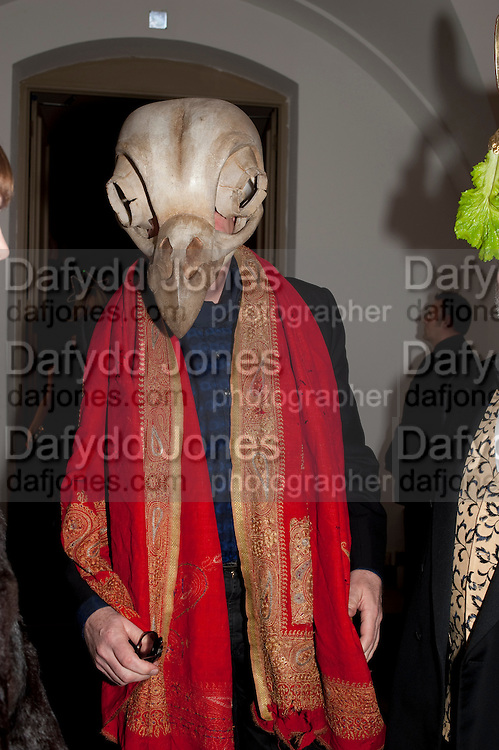 MICHAEL HOWELLS, The Surrealist Ball in aid of the NSPCC. Hosted by Lucy Yeomans and Harry Blain. Banqueting House. Whitehall. 17 March 2011. -DO NOT ARCHIVE-© Copyright Photograph by Dafydd Jones. 248 Clapham Rd. London SW9 0PZ. Tel 0207 820 0771. www.dafjones.com.