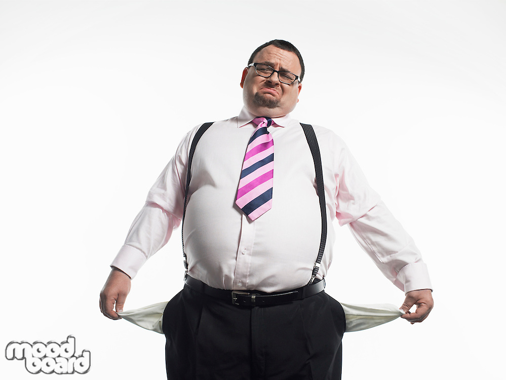 Broke Businessman