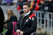 Bristol City manager Lee Johnson during the EFL Sky Bet Championship match between Bristol City and Burton Albion at Ashton Gate, Bristol, England on 4 March 2017. Photo by Richard Holmes.