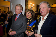 SIR CHRISTOPHER MEYER; LADY MEYER; CHARLES ANSON, Mrs. Richard Briggs at home to celebrate Catherine Meyer's birthday. Sloane Gardens. London. 28 January 2009