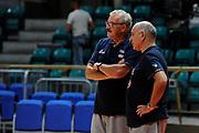 Sacchetti Romeo, Lele Molin<br /> Nazionale Senior maschile<br /> Allenamento<br /> World Qualifying Round 2019<br /> Bologna 13/09/2018<br /> Foto  Ciamillo-Castoria / M. Longo